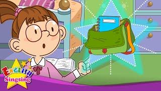 Có phải đây là túi của bạn? Đây có phải là nắp của bạn? - bài hát tiếng Anh cho trẻ em