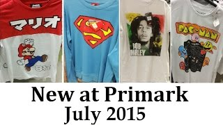 Mens Graphic T-Shirts At Primark | July 2015 |