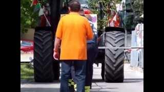 preview picture of video '2. Lauf beim Traktorziehen in Malschwitz / 19,55 sek = 3. Platz'