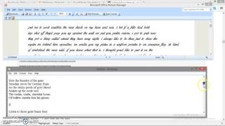 HOW TO CONVERT IMAGE FILES IN TO NOTEPAD FILES