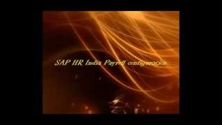 Learn SAP Free: SAP Payroll India ( Provident confiuration)_Part 1