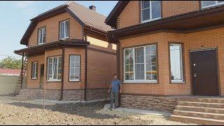 Дом в Анапе с отделкой под ключ и газовым отоплением
