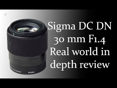 The SHARPEST E-mount lens best review – Sigma DC DN 30mm 1.4 after almost 2 years.