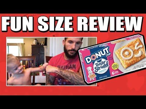 Fun Size Review: Pillsbury's Glazed Donut Toaster Strudels