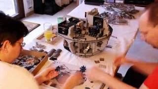 preview picture of video 'Building LEGO Deathstar'