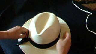 Attaching hat band