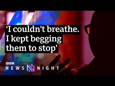 Police probed after black woman punched during arrest - BBC Newsnight