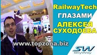 🎥 SkyWay RailwayTech 2017 Индонезия. Заработок в интернете без вложений. Инвестиции Новый транспорт.