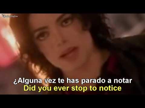 Michael Jackson - Earth Song [Lyrics English - Español Subtitulado]