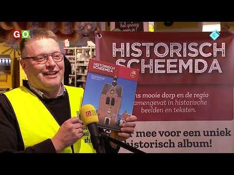 Hoe krijgen we het boek Historisch Scheemda vol met de Jumbo plaatjes? - RTV GO! Omroep Gemeente Oldambt