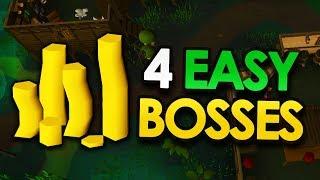 4 Easy Bosses for HUGE Profits (OSRS)
