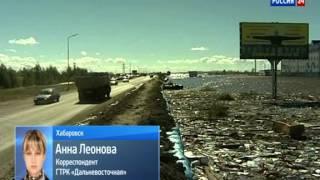 В Комсомольске и Хабаровске уровень воды Амура снижается
