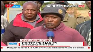 Elgeyo-Marakwet residents claim they are using the 2013 register and the MPs papers are missing