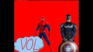 Человек - Паук против Капитана Америка #2