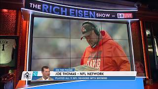 NFL Network's Joe Thomas on Whether Kitchens Has Lost Browns Locker Room | The Rich Eisen Show
