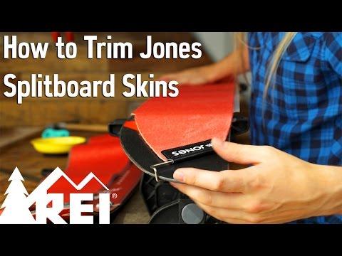 Snowboarding: How to Trim Jones Splitboard Skins
