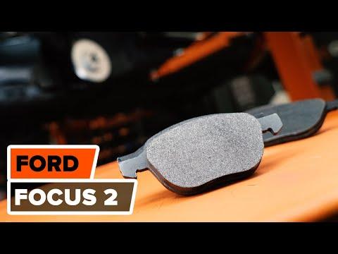 Wie FORD FOCUS 2 Bremsscheiben vorne, Bremsbeläge vorne wechseln TUTORIAL | AUTODOC