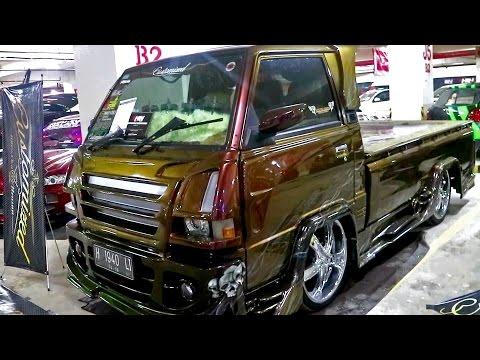 Video Modifikasi Mobil Pick Up ISTIMEWA KARYA Customized  Jogja (mitsubishi l300 modifikasi)