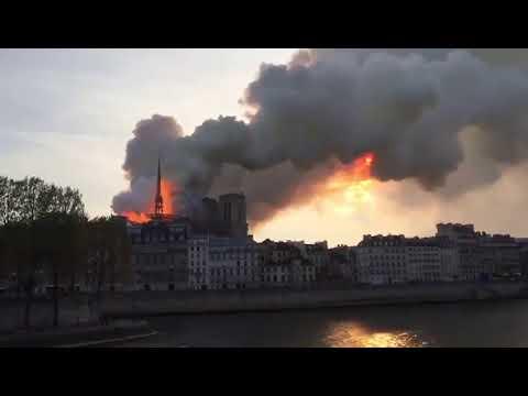 Vídeo: Incêndio atinge catedral de Notre Dame, em Paris