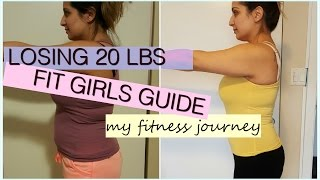 My Weightloss Journey - Losing 20lbs - Fit Girls Guide - Before And After