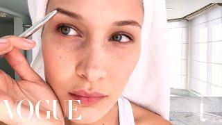 Bella Hadid's Jet-Lag Beauty Guide | Beauty Secrets | Vogue