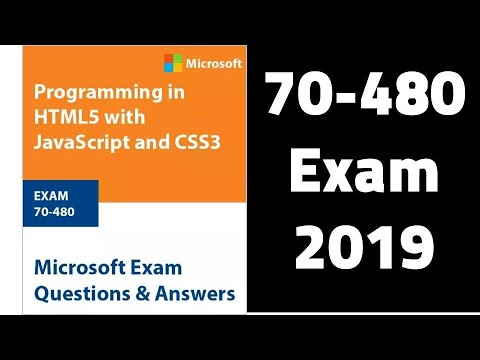 Free MCSD Programming in HTML5 with JavaScript and CSS3 (70 ...