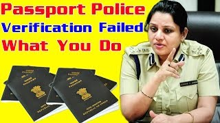 Police Verification Report is not clear and application is under review at Regional Passport Office
