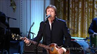Paul McCartney - Got to get you into my life (white house)