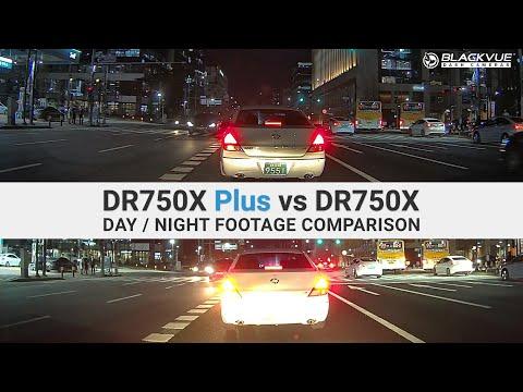 DR750X Plus vs DR750X Footage comparison