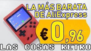 🕹️ La CONSOLA más BARATA de AliExpress 8,80€ | Clon NES GAME BOY