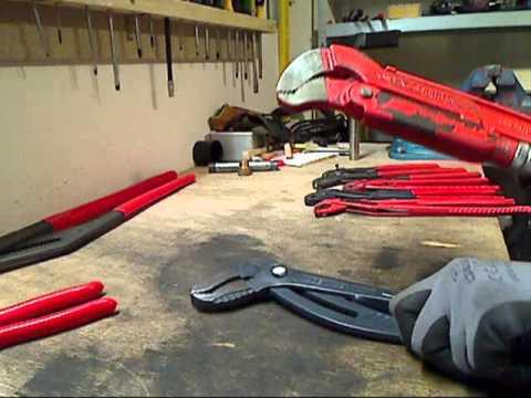 Wasserpumpen/Rohrzangen/water pump pliers/pipe wrenches/German