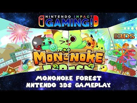 Mononoke Forest Nintendo 3DS Gameplay thumbnail