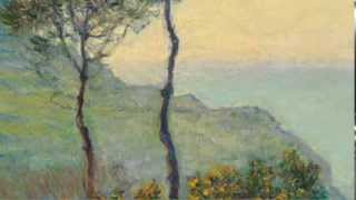 L'eglise de Varengeville; Soleil Couchant (Monet)