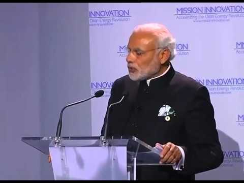 PM Modi's speech at Mission Innovation Session at COP 21