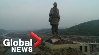India to unbelievable world s tallest statue that costs  420M