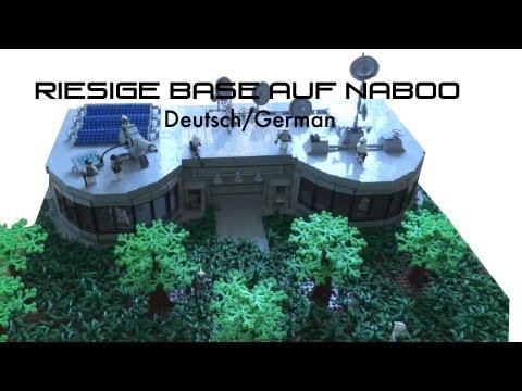 Lego Star Wars The Clone Wars Deutsch Clone Base Auf Naboo Moc