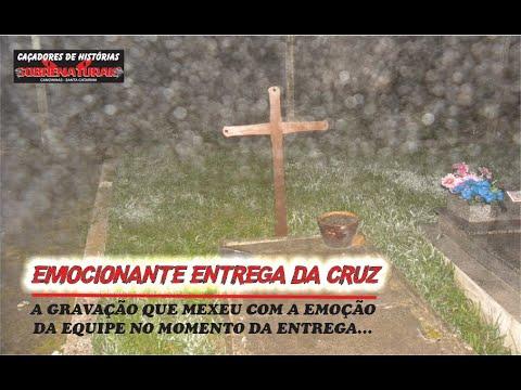 A emocionante entrega da cruz ao espírito - segure suas emoções.