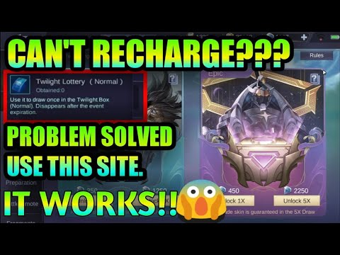 RECHARGE DIAMONDS IT WORKS!!! | NOT CODASHOP BILIS BAKA MAG LOCK DIN