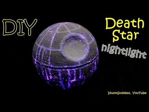 Star Wars Todesstern Nachtlampe - Schaffe deine eigene Star Wars Episode