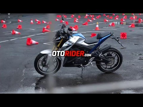 First Ride Yamaha Xabre di Sentul Indonesia