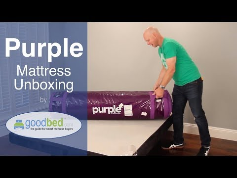 Purple Mattress Unboxing (VIDEO)