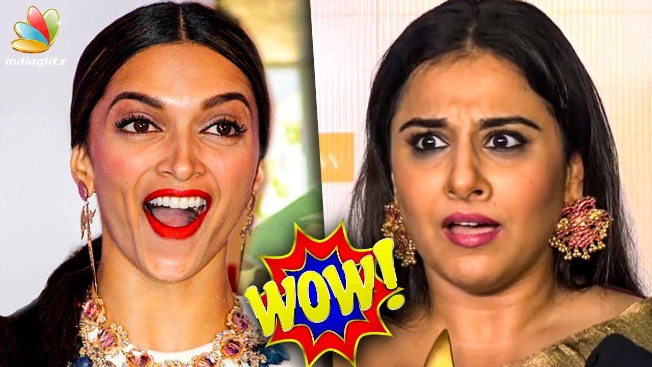 OMG ! Deepika Padukone & Vidya Balans Stunning Surprise | Hot Cinema News