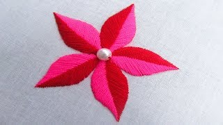 Fancy Flower Embroidery, Hand Embroidery Designs