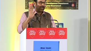 Address by Union Minister Mukhtar Abbas Naqvi at Mail Today's Education and Skill summit 8th Edition