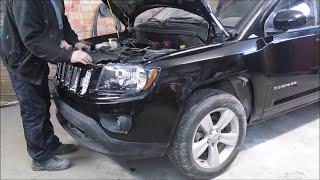 Jeep Compass. The body repair. Ремонт кузова.
