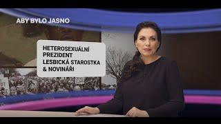 """Heterosexuální prezident, lesbická starostka a dvojí metr novinářských """"hvězd"""""""