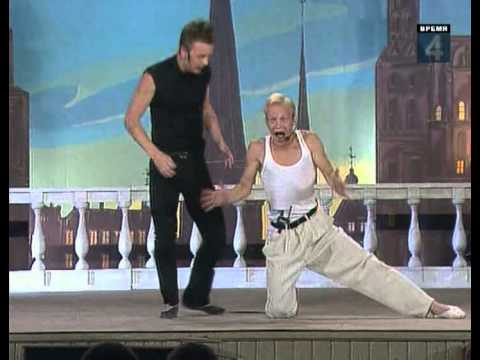 КВН-1999: Сборная Питера. Балет. Юрмала.