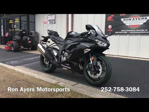 2019 Kawasaki NINJA ZX-6R in Greenville, North Carolina - Video 1