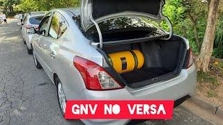 INSTALACAO DO GNV NO VERSA 1.6 CVT  - O MELHOR CARRO PARA GNV - CANAL DO FUSH