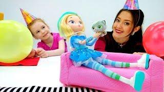 День Рождения у Снежки! Видео о куклах Сказочный Патруль.